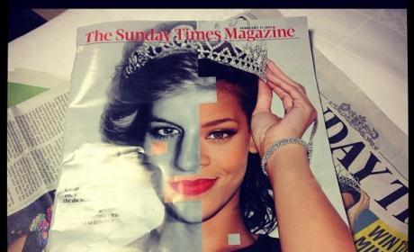 Rihanna and Princess Di: Do you see the comparison?