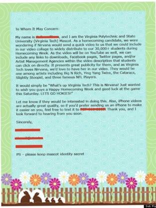 VT Letter