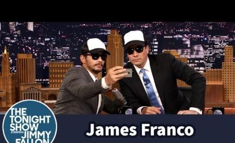 James Franco Gives Jimmy Fallon a Selfie Lesson
