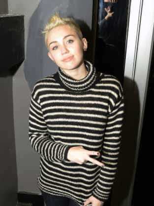 Miley Cyrus: Peace!