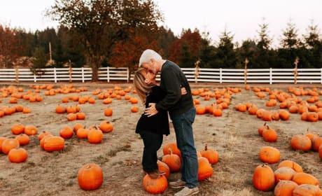 Amy Roloff and Chris Marek, Pumpkin Kiss