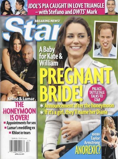 Kate Middleton: Pregnant Bride!