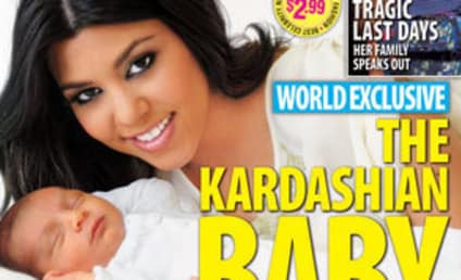 Kourtney Kardashian, Kute Kid Kover Magazine