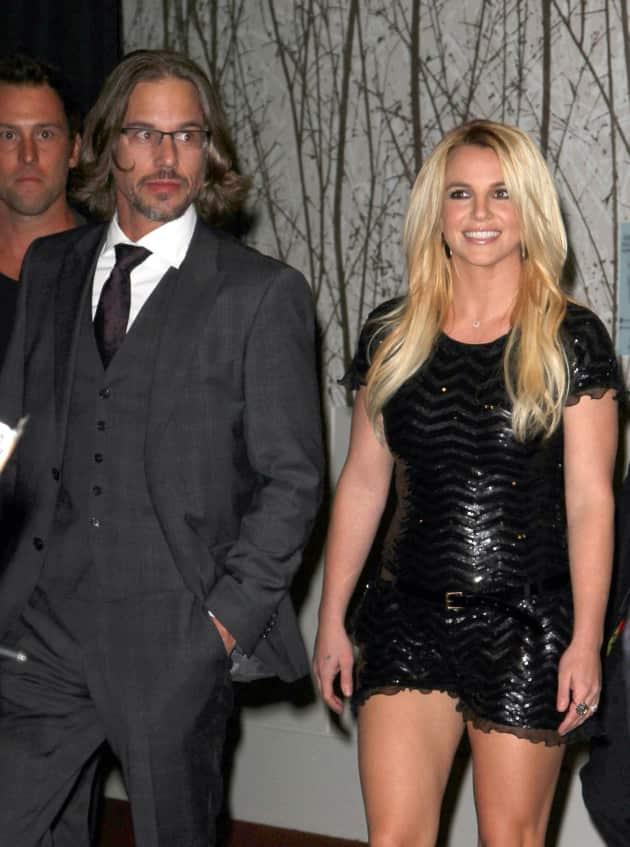 Britney Spears, Jason Trawick at VMAs