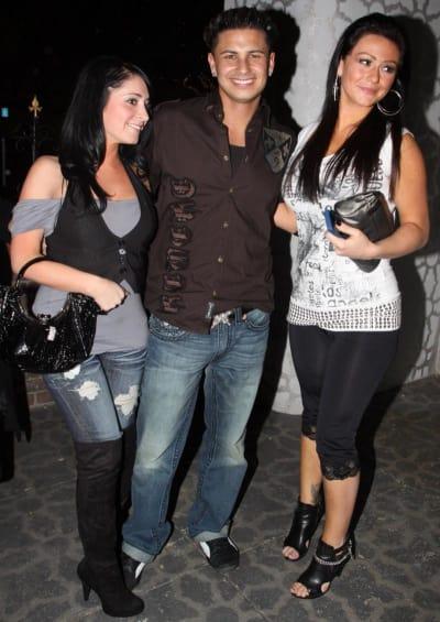 Angelina, Pauly D and J-Woww