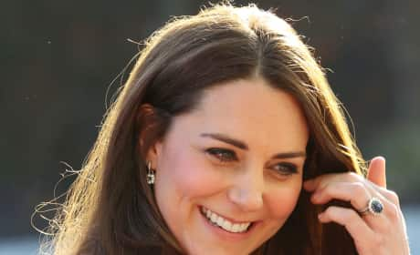Kate Middleton Glows