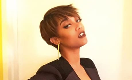 Tyra Banks Pixie Cut