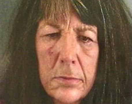 Lucinda Moyers Mug Shot