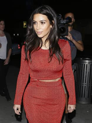 Kim Kardashian Out and About Photo