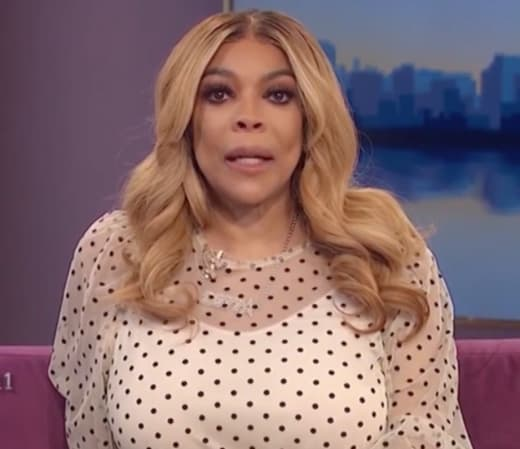 Wendy Williams on the air