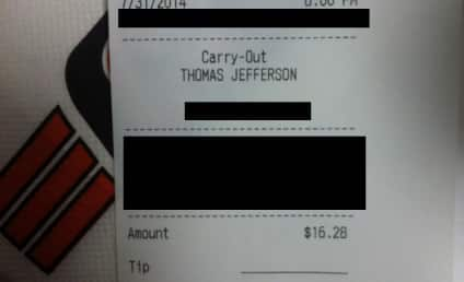 "Kid Uses Dad's Credit Card to Order Pizza, Signs Receipt ... ""Dad"""