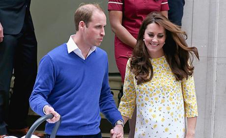 Kate Middleton Post-Baby Jenny Packham Dress