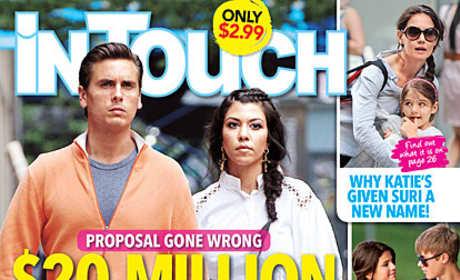 Kourtney Kardashian In Touch Cover