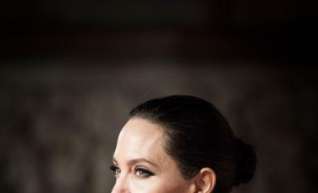 Angelina Jolie at the BAFTAs