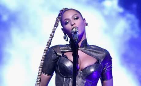 Beyonce in Big Apple