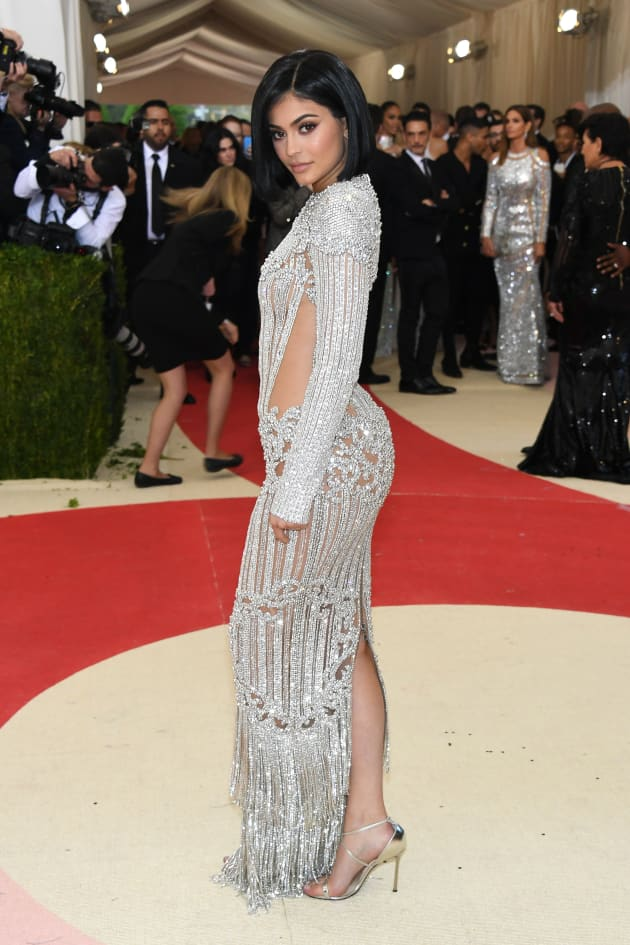 Kylie Jenner Met Gala Balmain Gown - The Hollywood Gossip