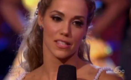 Elizabeth Berkley Eliminated on Dancing With the Stars
