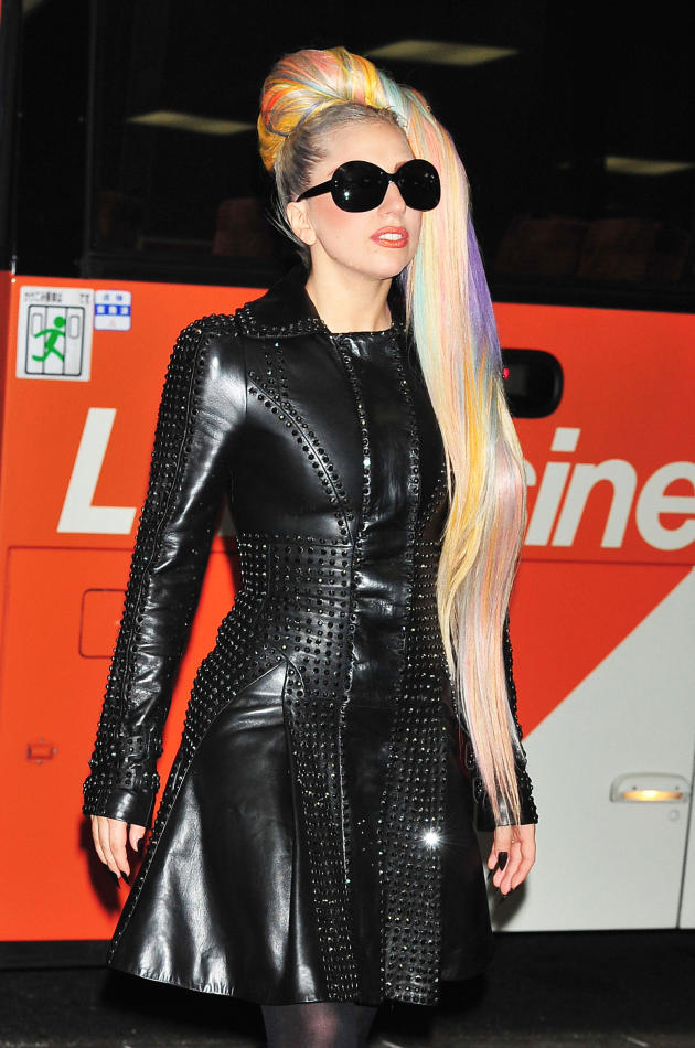 Lady Gaga, Rainbow Hair