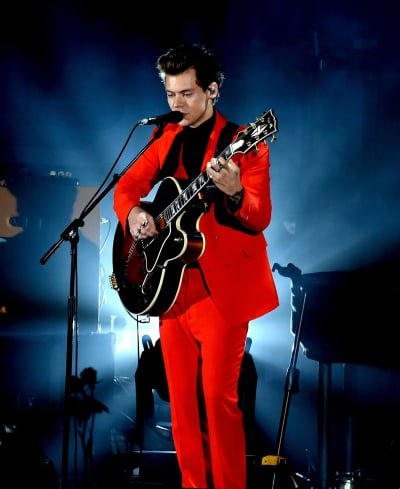 Harry Styles in Red