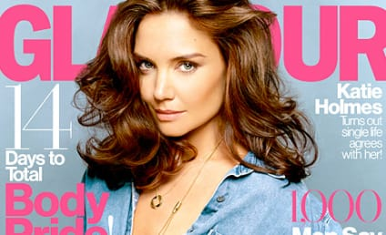 Katie Holmes: Topless in Glamour!