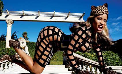 Nicki Minaj Pops Booty, Talks Life as Nicki Minaj in V