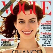 Anne Hathaway in Vogue
