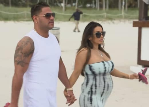 Ronnie Ortiz-Magro and Pregnant Girlfriend Jen Harley