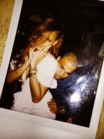 Chris Brown, Rihanna Twitter Picture