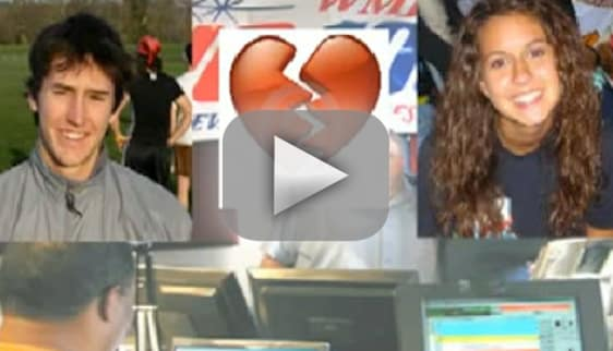 Guy Dumps Girlfriend Live on Air
