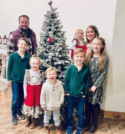 Duggars Celebrate Christmas