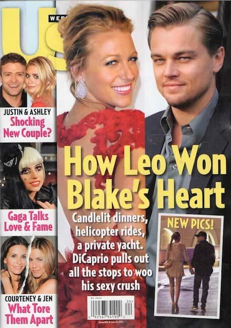 Blake Lively, Leonardo DiCaprio