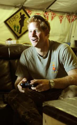 Prince Harry, War Games