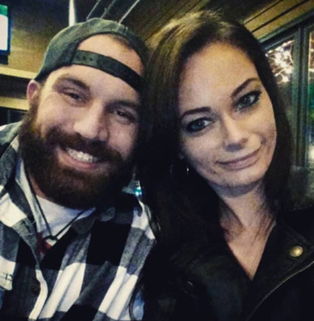 Adam Lind and Fiancee