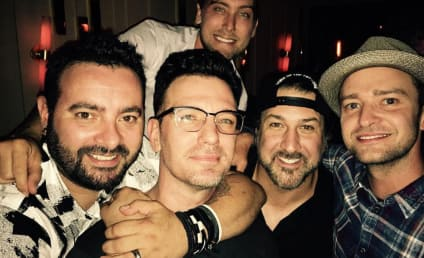 Justin Timberlake Reunites With *NSYNC, Those Handsome Devils
