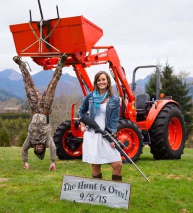 Hamden Dentist Goes Viral With Millions Of Video Views In: Hunting-Themed Engagement Photo Goes Viral: See It Here