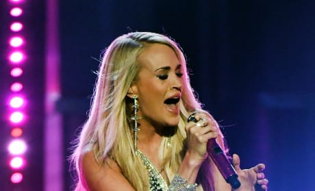 Carrie Underwood in Vegas