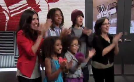 Kayla Nevarez - American Boy (The Voice Blind Audition)