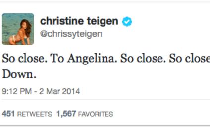 Chrissy Teigen Oscar Tweet Goes Horribly Wrong, Model Rolls with it 'Cause She's Chrissy Teigen