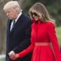 Melania Trump and Donald Together