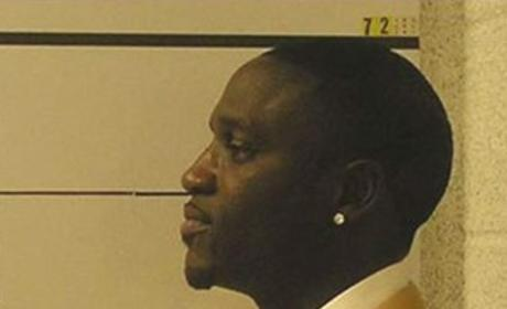 Akon Mug Shot (Side Action)