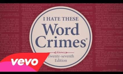 "Weird Al Yankovic Parodies ""Blurred Lines,"" Presents ""Word Crimes"""