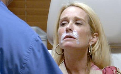 Kim Richards' Face