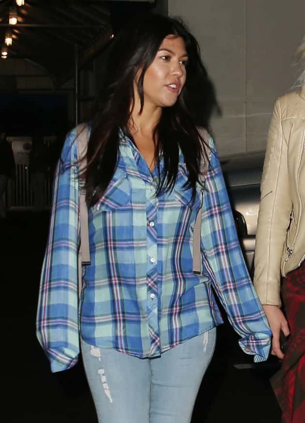 Kourtney Kardashian in The Hamptons