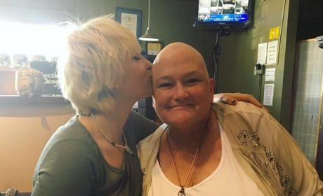 Paris Jackson and Debbie Rowe Photo