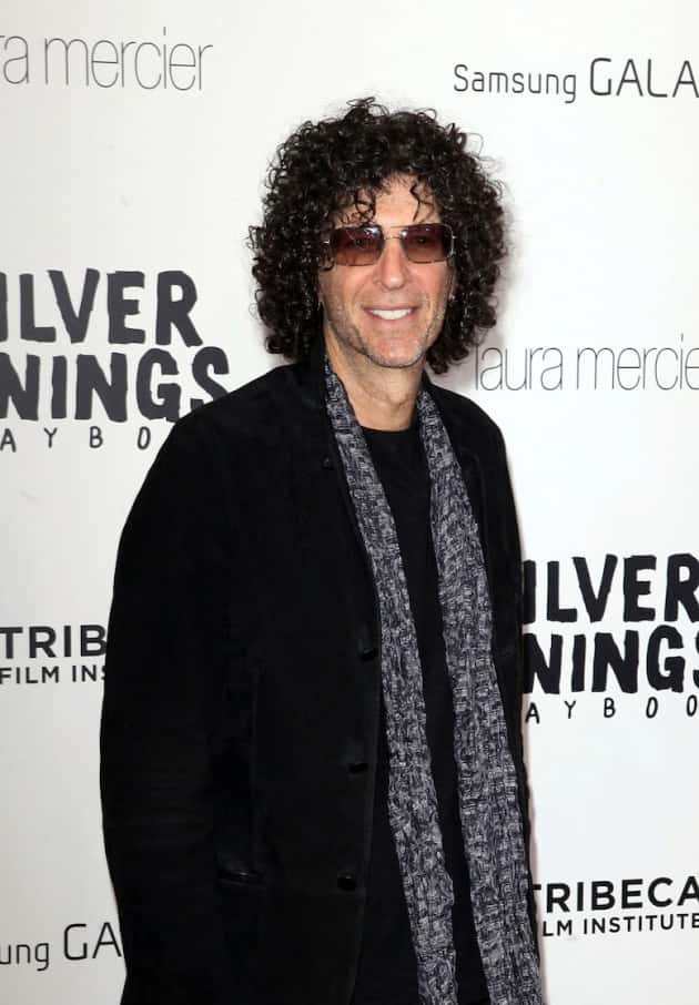 Howard Stern Red Carpet Photo