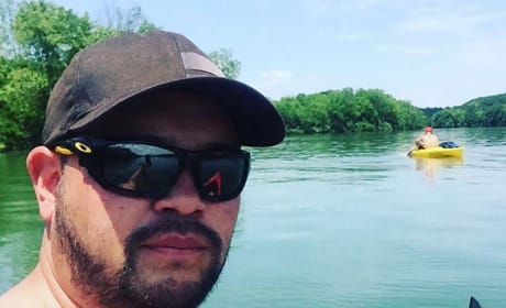 Jon Gosseln Shirtless Lake