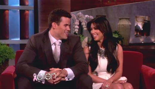 Kris and Kim on Ellen