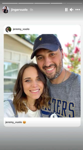 Jinger Duggar with Jer