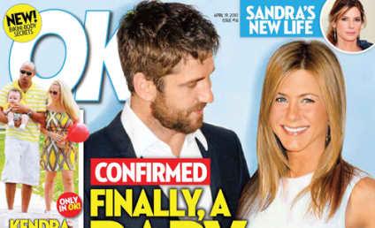 Report: Gerard Butler to Impregnate Jennifer Aniston