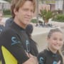 Larry Birkhead and Dannielynn, Wetsuits